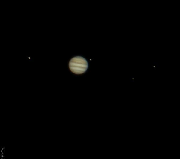 Jupiter a l oculaire 1